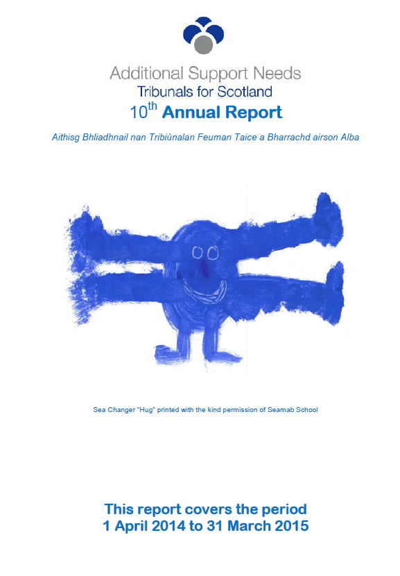10th Annual Report Cover Image