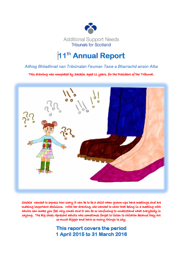 11th Annual Report Cover Image