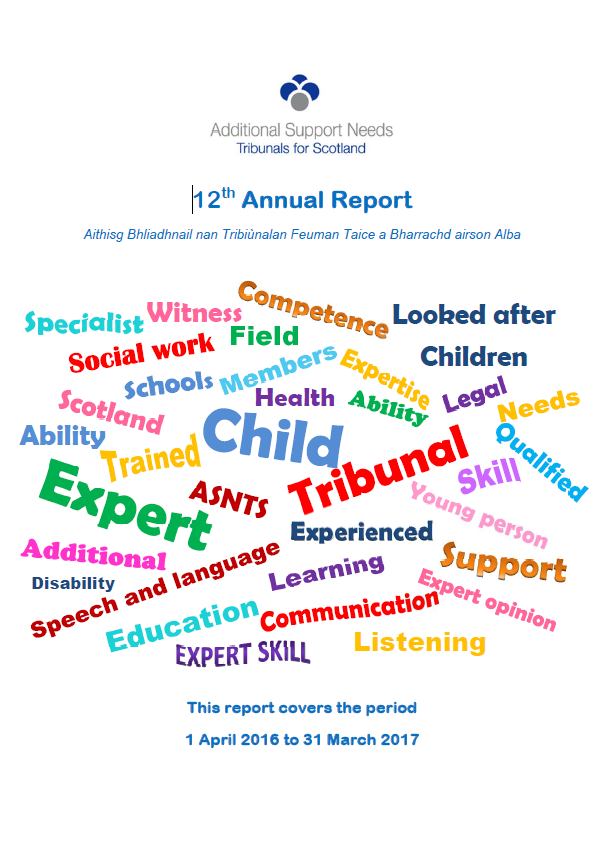 12th Annual Report front cover image
